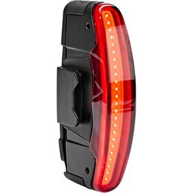 spanninga Arco Flash Éclairage arrière rechargeable, black